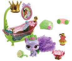 """Котенцето Лили - Фигура с аксесоари от серията """"Disney Princess Palace Pets"""" - играчка"""