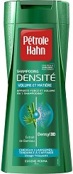 Petrole Hahn Dencite Volume et Matiere Shampoo - Шампоан за обемна и плътна коса за мъже - балсам