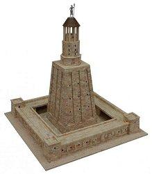 Alexandria Lighthouse - Сглобяем модел от тухлички -