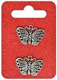 Метални висулки - Пеперуди