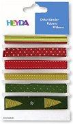 Текстилни панделки - Коледа - Комплект от 6 броя