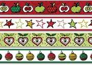 Декоративно тиксо - Коледни ябълки