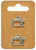 Метални висулки - Шевни машини - Комплект от 2 броя