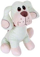 Куче с шал - Плюшена играчка - играчка