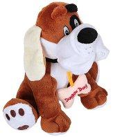 Куче с кокал - Плюшена играчка - играчка