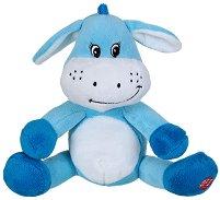 Магаре - Бебешка плюшена играчка с дрънкалка - детски аксесоар