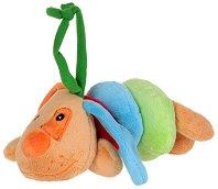 Куче - Бебешка плюшена играчка със звук -