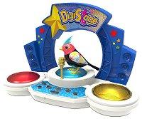 """Интерактивно птиче - Стар с музикална сцена - Детска играчка от серията """"Digibirds"""" -"""