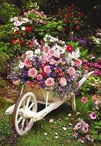 Градински цветя - пъзел