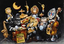 Новата джаз банда на Найроби - пъзел