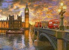 Залез в Лондон - Доминик Дейвисън (Dominic Davison) - пъзел