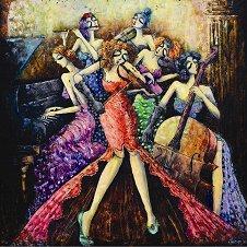 Дамски оркестър - Дерия Йълдъз (Derya Yildiz) - пъзел