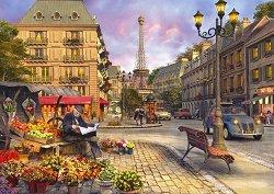 По улиците на Париж - пъзел
