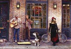 Звук и картина от Ню Орлиънс - Стийв Ханкс (Steve Hanks) - пъзел