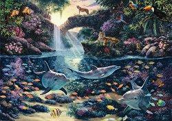 Рай в джунглата - пъзел