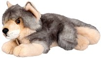 """Вълк - Плюшена играчка от серията """"Miyoni"""" - несесер"""