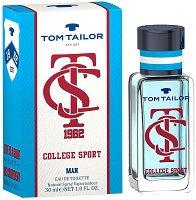 """Tom Tailor College Sport Man EDT - Парфюм за мъже от серията """"College Sport"""" - парфюм"""