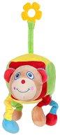 Кубче - Буболечка - Бебешка плюшена играчка с дъвкалка -