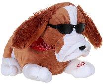 Куче - Танцуваща и пееща плюшена играчка - играчка
