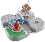 """Писта - Cyborg Crossing - Комплект с количка от серията """"Hot Wheels - City"""" - количка"""