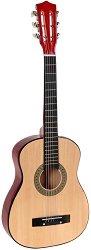 Дървена китара - Детски музикален инструмент - играчка