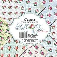 Хартии за скрапбукинг - Малки рози