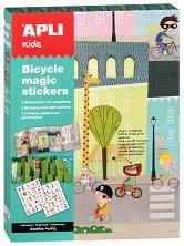 Разкажи забавни истории - Велосипеди - Комплект със стикери -