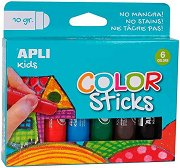 Гел-стик пастели - Комплект от 6 или 12 цвята по 10 g