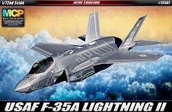 Военен самолет - USAF F-35A Lightning II - Сглобяем авиомодел -