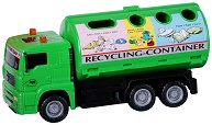 """Камион за разделно събиране на отпадъци - Детска играчка от серията """"City team"""" - кукла"""