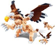 """Митични животни - 3 в 1 - Детски конструктор от серията """"Creatables"""" - творчески комплект"""
