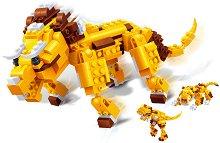 """Праисторически животни - 3 в 1 - Детски конструктор от серията """"Creatables"""" - играчка"""
