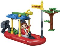 """Сафари лодка - Детски конструктор от серията """" Safari"""" -"""