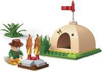 """Сафари палатка - Детски конструктор от серията """" Safari"""" -"""