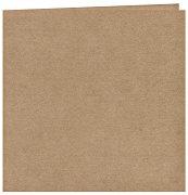 Картончета за картички с перлен ефект - Крафт 001 - Комплект от 25 броя