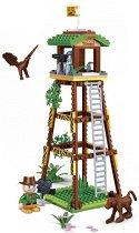 """Кула - Детски конструктор от серията """" Safari"""" - играчка"""