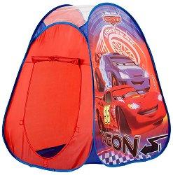 """Детска палатка с неонови цветове - Детски аксесоар от серията """"Колите"""" - играчка"""
