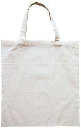 Текстилна чанта с къси дръжки - Предмет за декориране