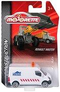 """Микробус - Renault Master - Метална количка от серията """"Construction"""" -"""