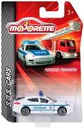 """Полиция - Метална количка от серията """"SOS Cars"""" - количка"""