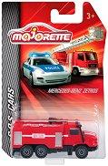 """Пожарникарски камион - Метална количка от серията """"SOS Cars"""" - играчка"""