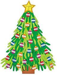 Направи сам - Коледно дърво - Творчески комплект - играчка