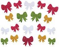 Блестящи стикери от EVA пяна - Панделки - Комплект от 100 броя