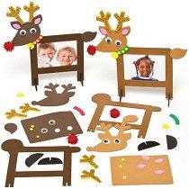 Направи сам рамки за снимки - Еленчета - Творчески комплект - играчка
