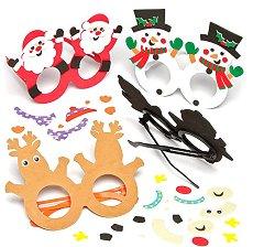 Направи сам - Коледни очила - творчески комплект