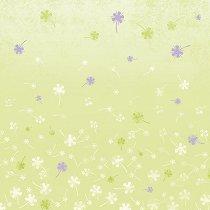 Декоративен филц - Фантазия от цветя - Размери 30 x 30 cm