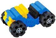 """Бъгита - 64 части - Детски конструктор от серията """"Junior Starter"""" - количка"""