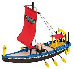 """Египетски кораб - Cleopatra - Дървен детски сглобяем модел от серията """"Junior Collection"""" -"""