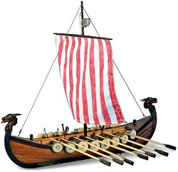 Дракар - Viking - Сглобяем модел на кораб от дърво -