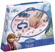 """Декорирай сама - Гривни - Творчески комплект от серията """"Замръзналото кралство"""" - играчка"""